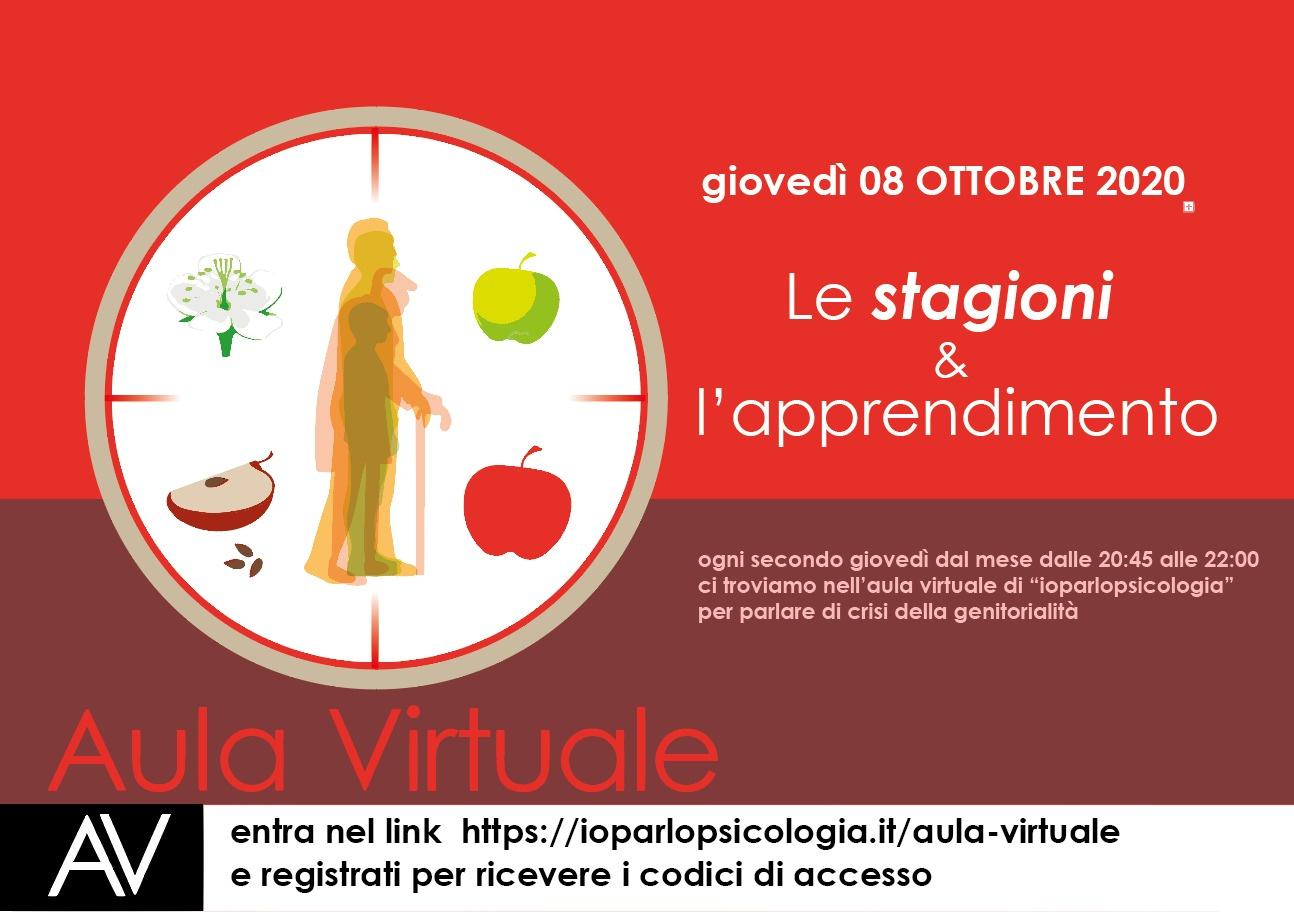 aula virtuale ottobre 8.10.2020 2